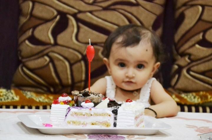 નાયરાની પ્રથમ જન્મદિવસ