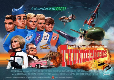 Thunderbirds offical Anniversary Poster
