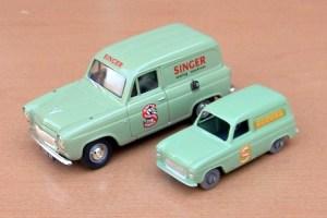 Two_Ford_Thames_Singer_vans