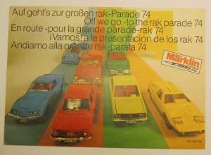 Marklin RAK 1974