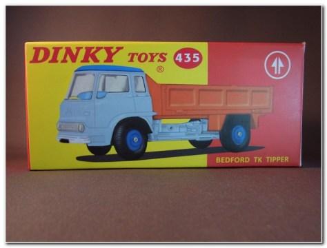 Atlas Dinky Trucks 435 Bedford TK Tipper