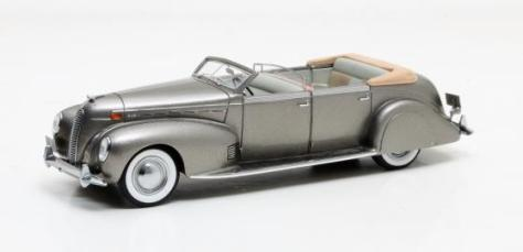 Lincoln Model K LeBaron Convertible Sedan grey metallic 1938