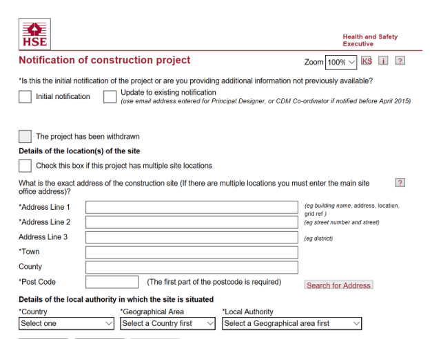 When is a Project Notifiable under the CDM Regulations 2015