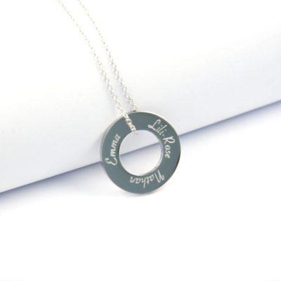 Collier pendentif personnalisé Iris