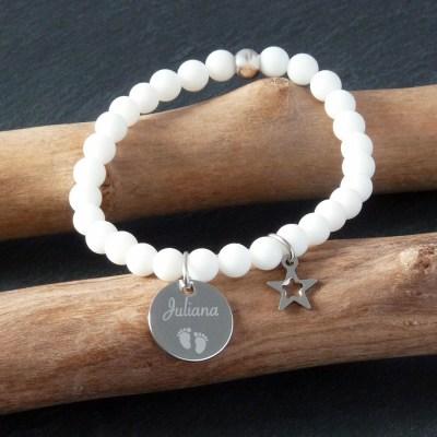 Bracelet personnalisé Léa
