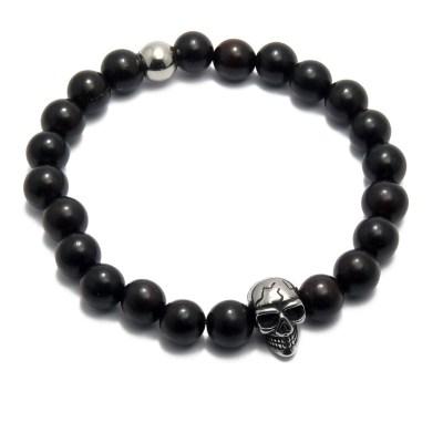 Bracelet perles Silas