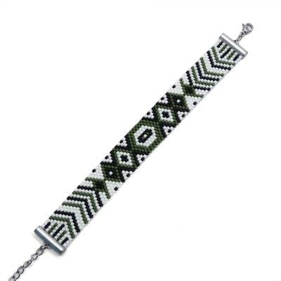 Bracelet Miyuki armée