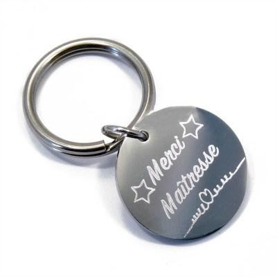 Porte clé «Merci Maîtresse»