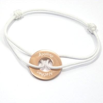 Bracelet personnalisé Rosa doré