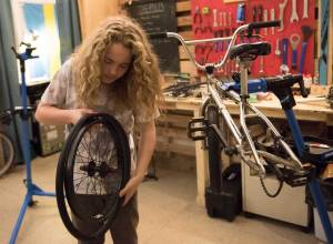 devyn trost revolutions bike shop photo