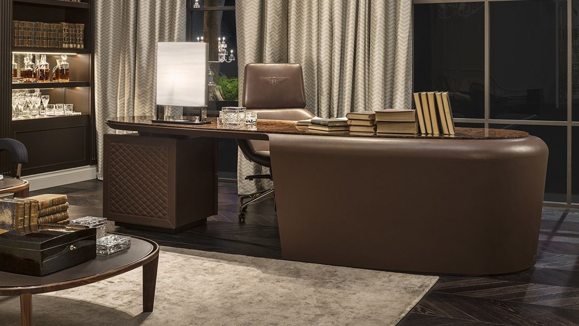 Bentley Home President Desk At Marquis Qsquare