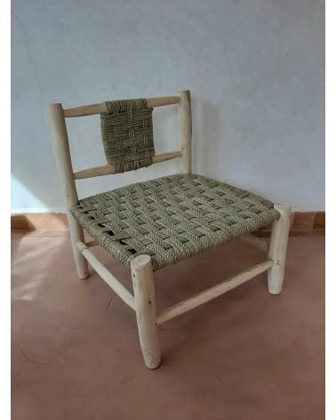 fauteuil bas en doum