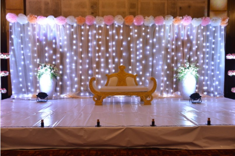 Simple Indian Wedding Stage Decoration Ideas Why Santa Claus