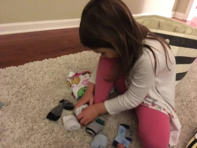Zoey Folding Socks
