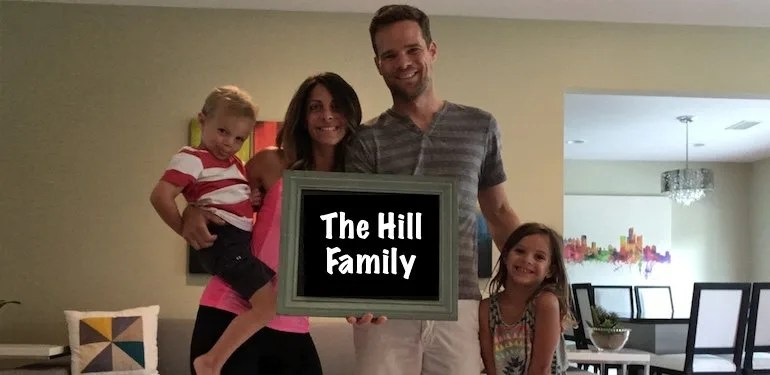 Meet the Hill Family – Nicole, Zoey (5) and Calvin (3)