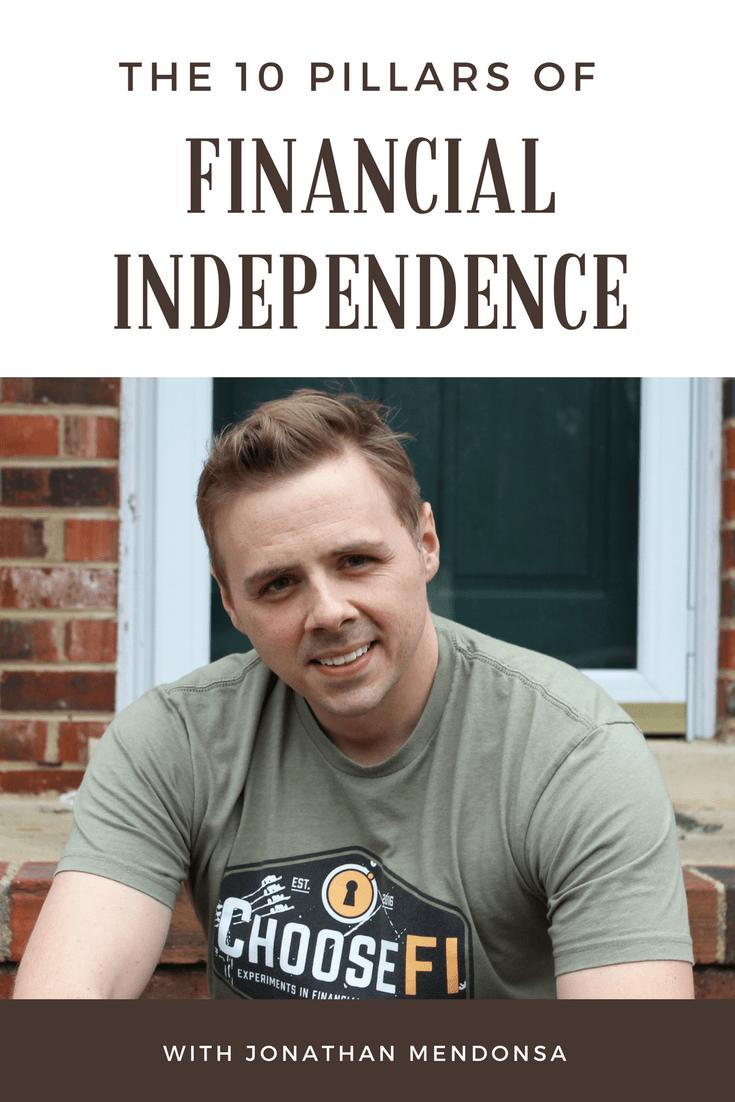 10 Pillars of Financial Independence with Jonathan Mendonsa
