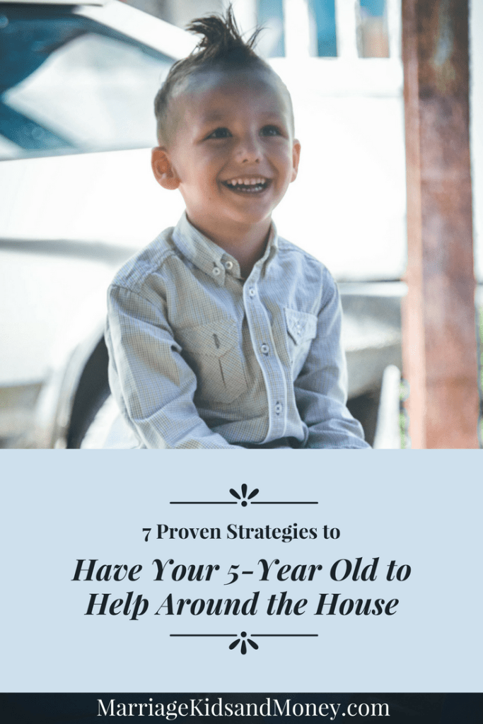 Have Your 5-Year Old Help Around the House