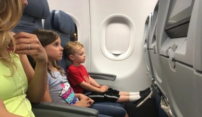 Delta Flight to Cabo - Zoey and Calvin