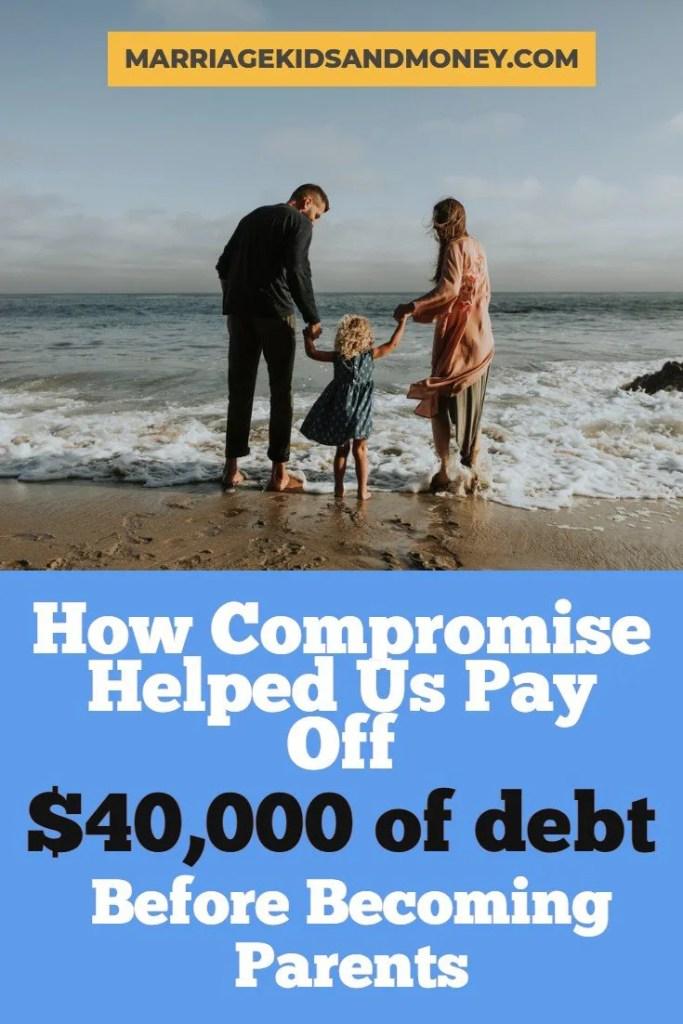 compromise pay off debt parents