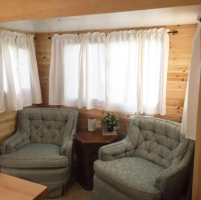 tiny home living minimalism couch