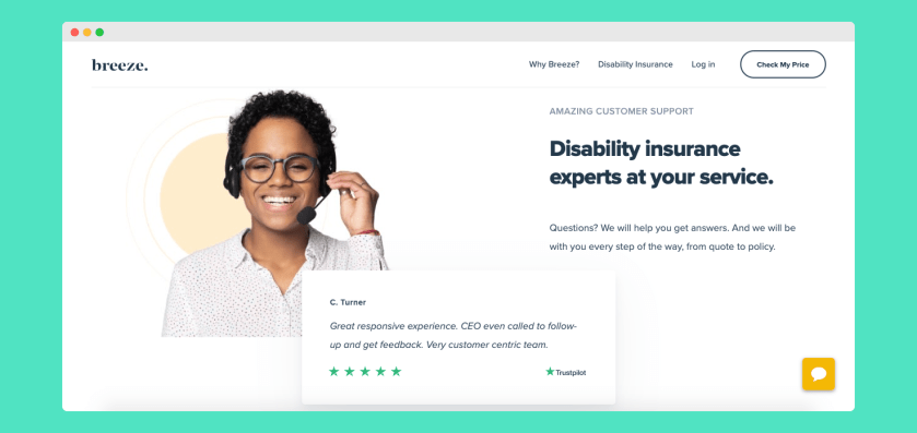 Breeze Review - Long Term Disability Insurance Online