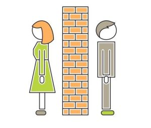 Is there a wall in your marriage?