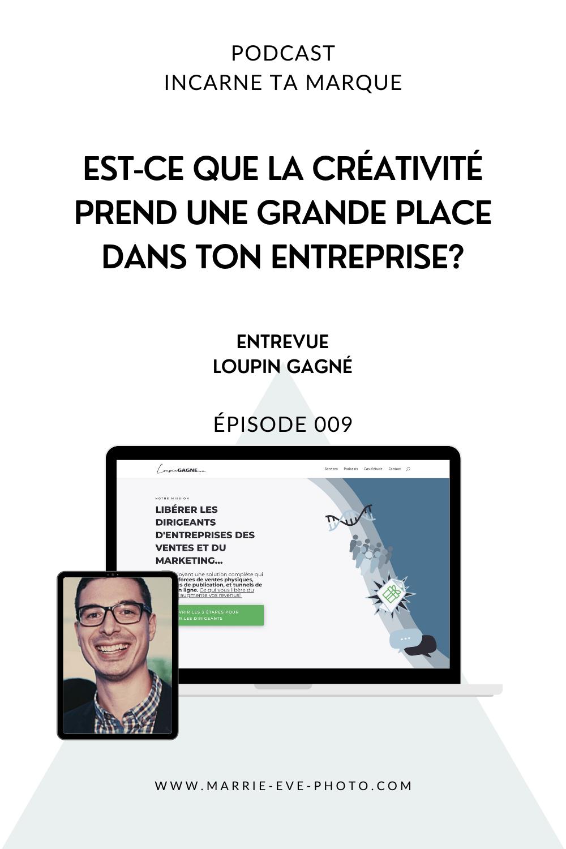 Couverture de podcast - Loupin gagné créativité