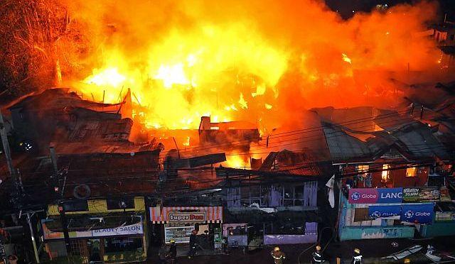 Fiery Disaster in Cebu City