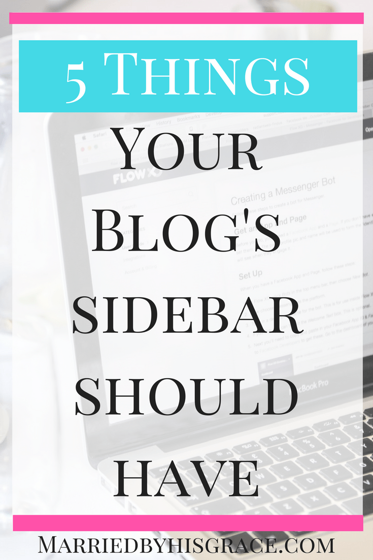 5 Things Your Blog's Sidebar Should have.