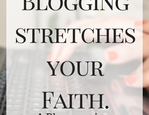 How Blogging stretches your Faith. A Bloggers view. Building a Blog.
