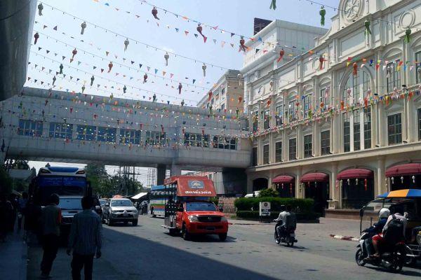 Taking The Bus From Bangkok To Siem Reap