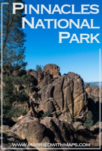 California USA Pinnacles National Park