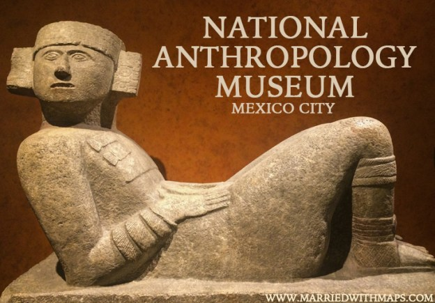 Chacmool at the National Anthropology Museum Mexico City