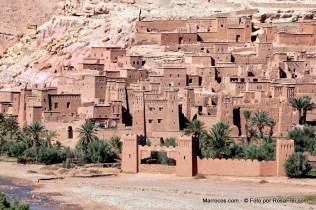 Ksar de Ait Ben Haddou, local UNESCO Património Mundial da Humanidade em Marrocos