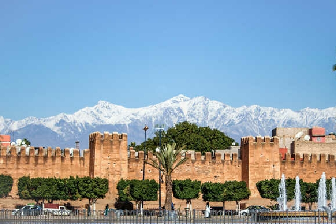 Ruta 6 días desde Agadir al desierto y la Costa Atlántica de Marruecos