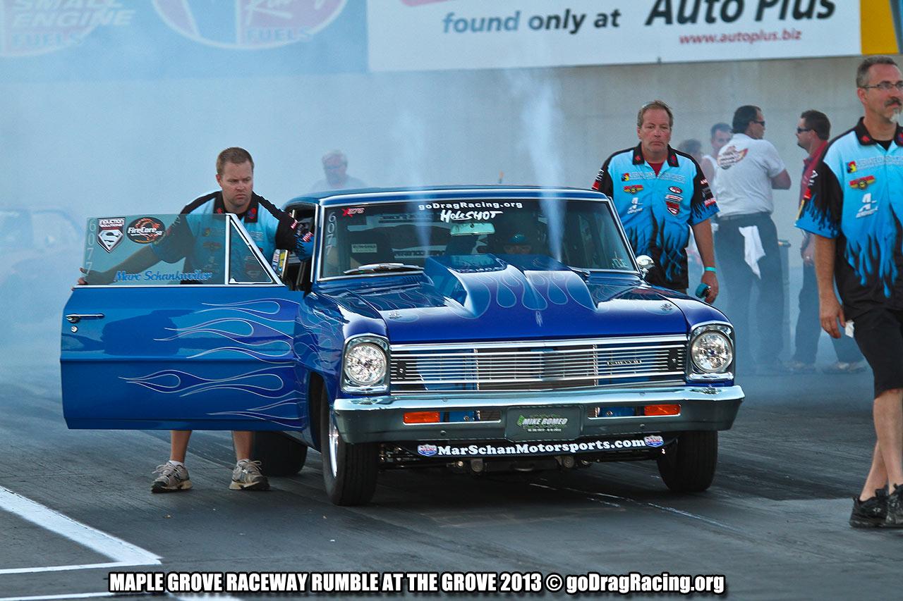 Mg Drag Racing