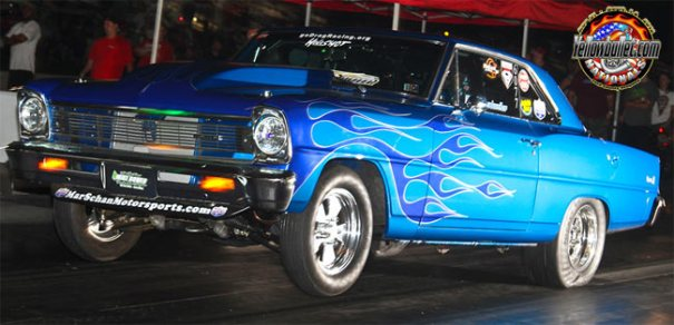 Marc Schankweiler at the 2012 yelow Bullet Nationals X275 Drag Radial