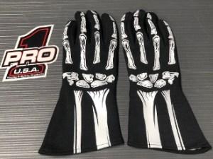 Pro 1 Skeleton Gloves
