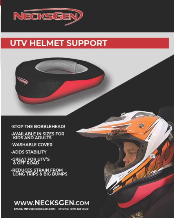 NecksGen UTV Helmet Support