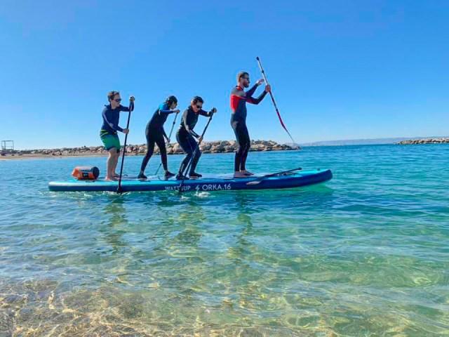 Course BIG SUP Paddle à Marseille