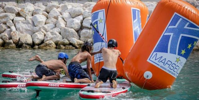 Paddle Technical & Beach Race à Marseille