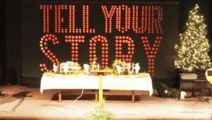tell your story lights