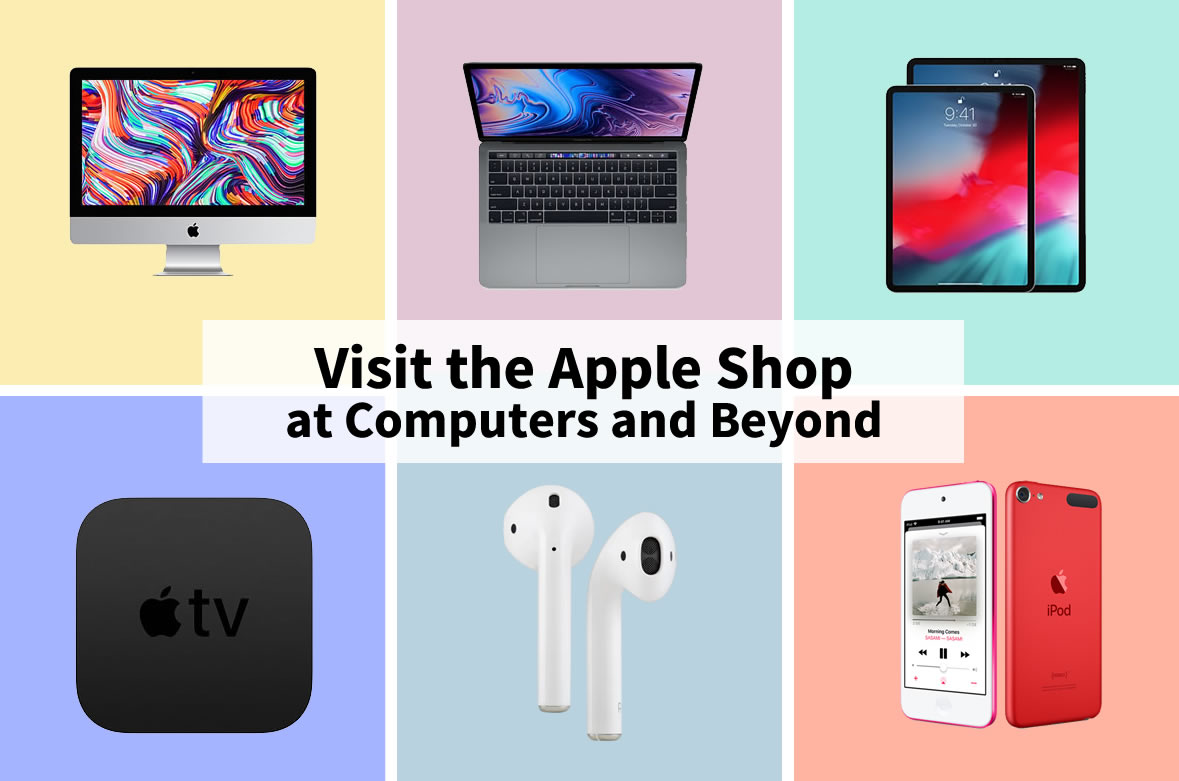 Computers and Beyond in Marshall, MN carries a variety of Apple Products, including iMacs, MacBooks, iPads and much more.