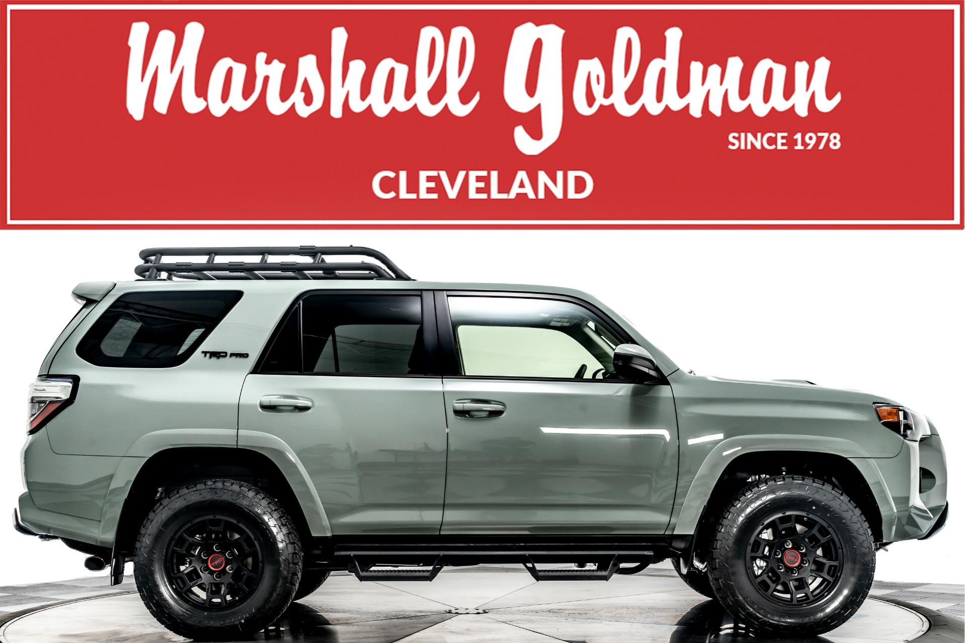 2019 toyota 4runner trd lifted sr5 premium package fully loaded. Used 2021 Toyota 4runner Trd Pro For Sale Sold Marshall Goldman Cleveland Stock Wtrdgr