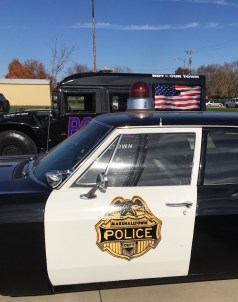 Marshalltown Iowa City Appreciation Day Police Car