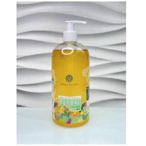 Herbal extract and natural oils liquid natural soap