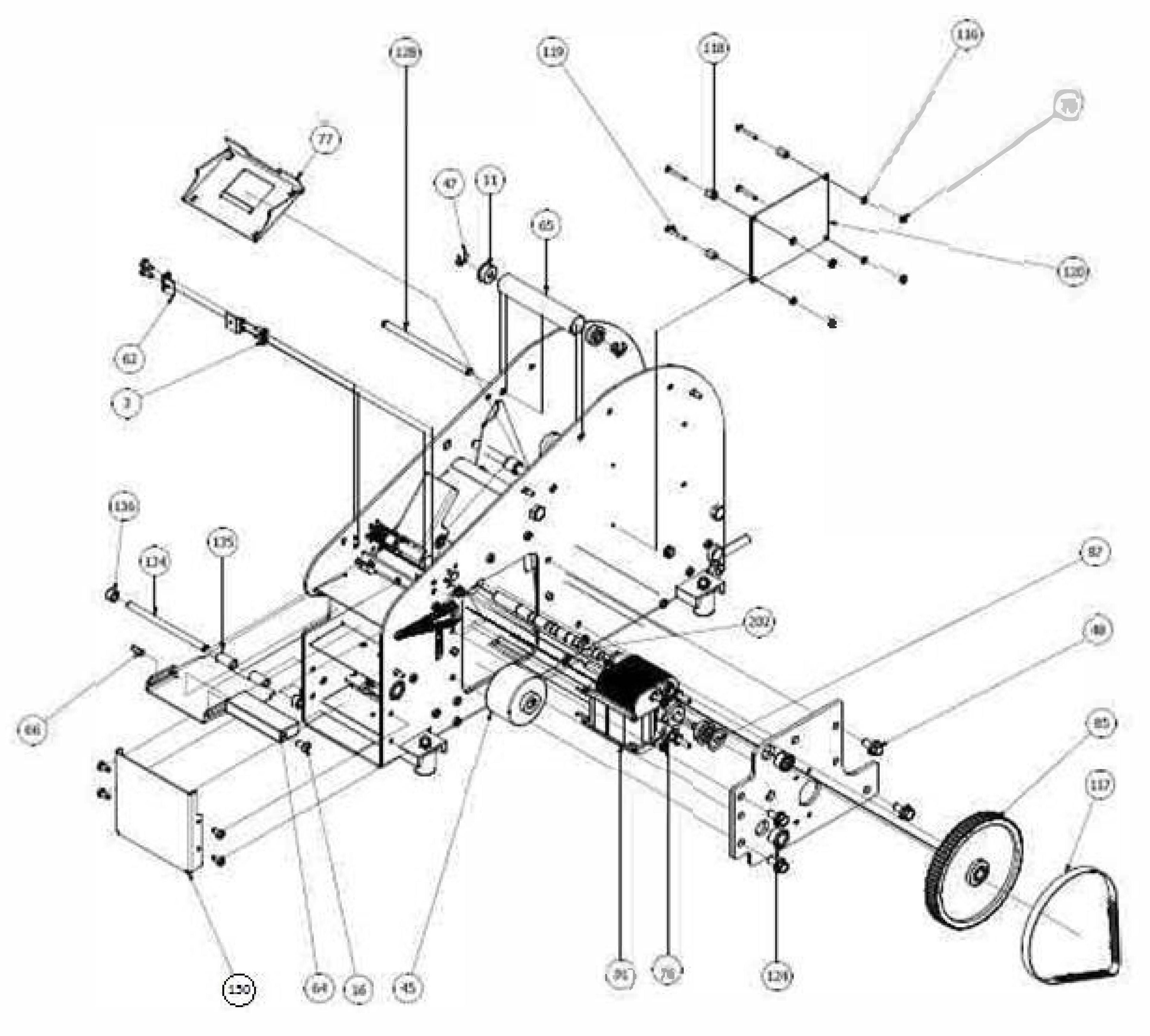 Rp 120v Motor Marsh Tapers