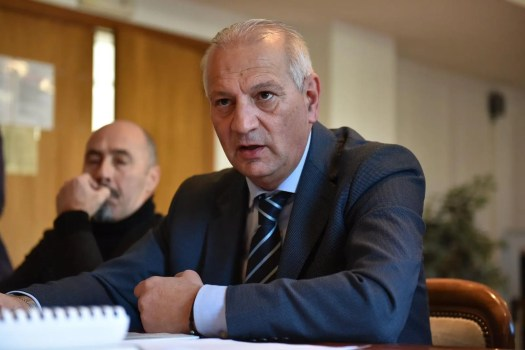 Il Presidente Giuseppe Di Pangrazio
