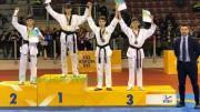 podio Francesco Scamolla Campione Italiano