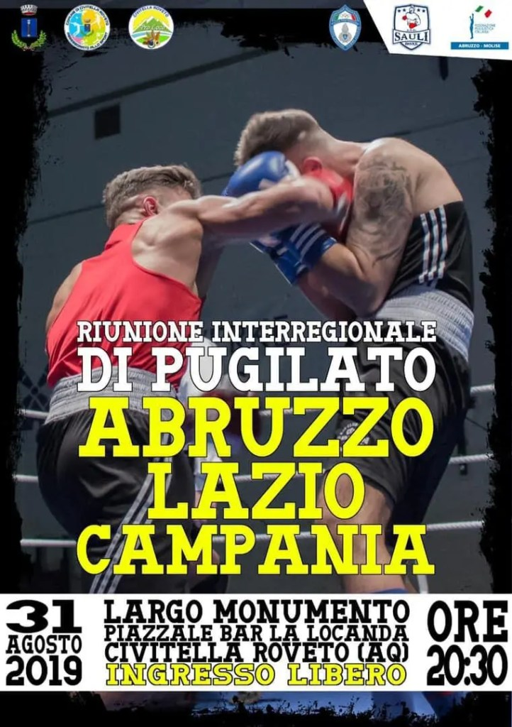 BOXE CIVITELLA AGOSTO 2019